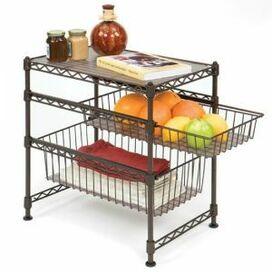 Stackable Kitchen Cabinet Organizer