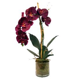 Faux Purple Orchid