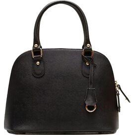 Ragazza Leather Handbag in Black