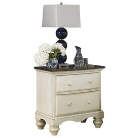 Carrington Nightstand in Old White