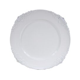 Daria Charger Plate in White (Set of 4)