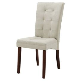 Anne Side Chair in Beige (Set of 2)