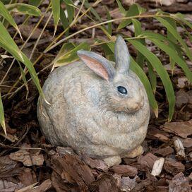 Portly Rabbit Statue