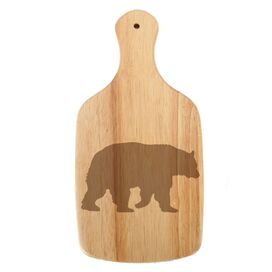 Woodland River Bear Paddle Cheese Board