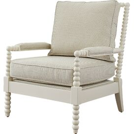 Harrison Arm Chair in Ivory