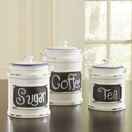 3-Piece Caswell Canister Set (Set of 3)