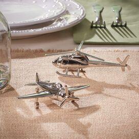 2-Piece Aviation Salt & Pepper Shaker Set