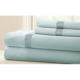 400 Thread Count Sheet Set in Sterling Blue