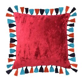 Macarena Cotton Throw Pillow