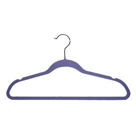 Marion Velvet Hanger in Purple (Set of 200)