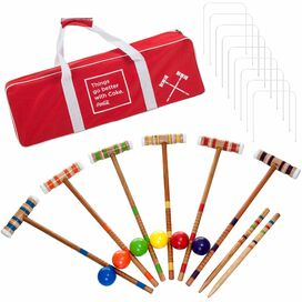 Coca Cola 24 Piece Croquet Set