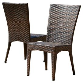 Brooke Patio Side Chair (Set of 2)
