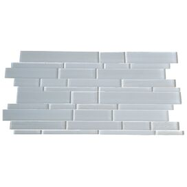 Glass Mosaic Tile in White