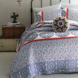 Stripe Coverlet