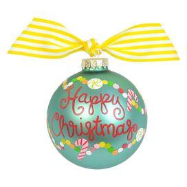 Happy Christmas Ornament