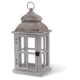 Rustic Wooden Outdoor Hanging Lantern