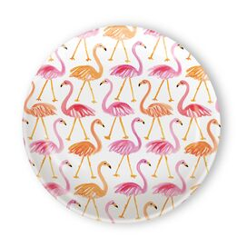 Flamingo Melamine Tidbit Topper