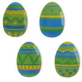 Easter Egg Plate (Set of 4)