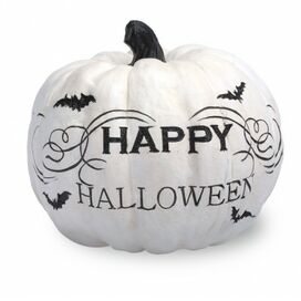 Happy Halloween Pumpkin Decor