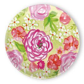 "Rose Garden 8"" Melamine Salad Plate"