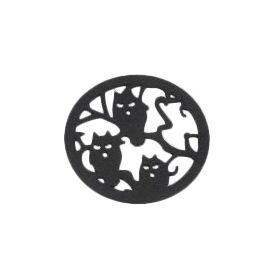 Owl Tree Coaster (Set of 4)