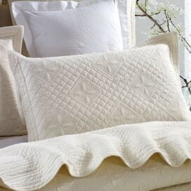 Saint Luxury Pure Cotton Quilted Pillow Sham