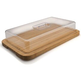 Cinderford Bamboo Chopping Board & Cover