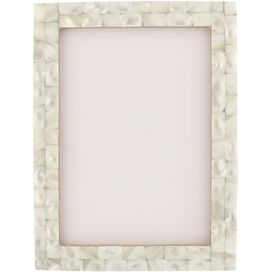 Flower Capiz Wall Mirror