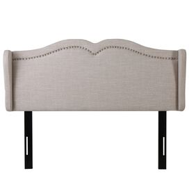 Alexa Upholstered Headboard in Beige
