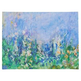 Lavender Fields by Monet Canvas Print