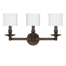 Osborne 3 Light Bath Vanity Light
