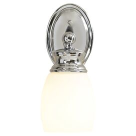 Cobbe 1 Light Wall Sconce with Glass Shade