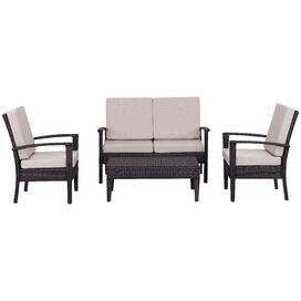 4-Piece Myers Patio Seating Group