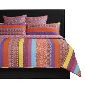 Monica Reversible Quilt Set