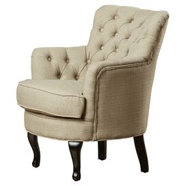 Priscilla Tufted Arm Chair