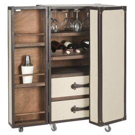 Lexington Bar Cabinet with Wine Storage