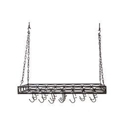 Rectangular Hanging Pot Rack