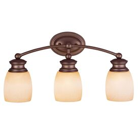 Kori Vanity Light in Burnished Bronze
