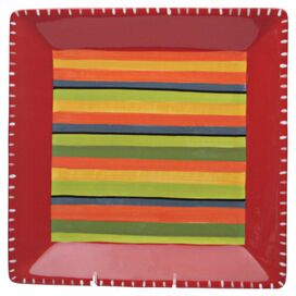 "Hot Tamale 13"" Square Platter"