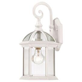 Blair Indoor/Outdoor Wall Lantern in White