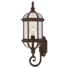 Trexler Outdoor Wall Lantern in Rustic Bronze