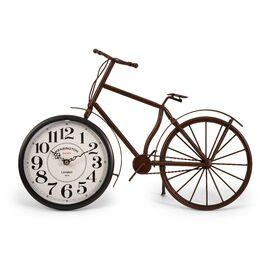 Higdon Bicycle Clock in Rustic