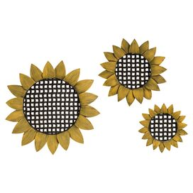 3-Piece Sunflower Wall Decor Set