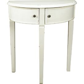 Cassidy Console Table in White