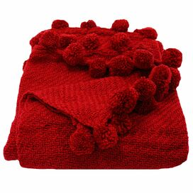 Jubilee Throw in Red