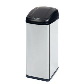 12.6-Gallon Motion Sensor Wastebasket