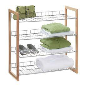 4-Tier Wire Shelf