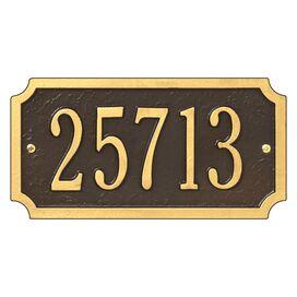 Personalized Cut Corner Address Plaque