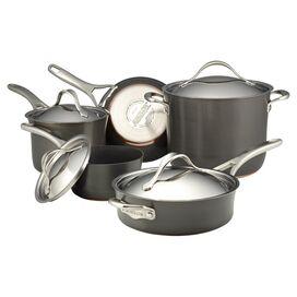 Anolon 9-Piece Copper Core Cookware Set