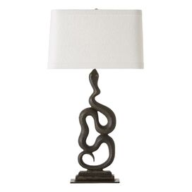 """Heath Right 33"""" H Table Lamp with Rectangular Shade"""